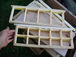 J'ai préparé quelques cadres pour faire du miel en rayon 🐝😋 Je vous tiendrai au…