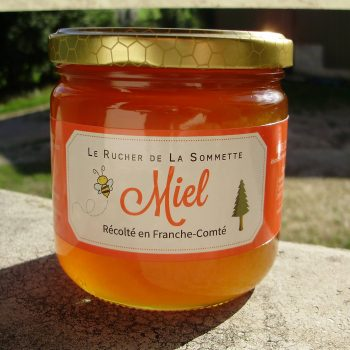 Miel de Tilleul 500g pot verre