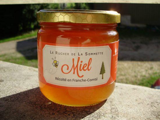 Miel de Sapin 500g pot verre